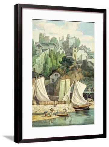 Near the Quay, Exeter-John White Abbott-Framed Art Print