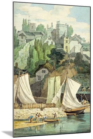 Near the Quay, Exeter-John White Abbott-Mounted Giclee Print