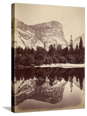 Mirror Lake, Yosemite Valley, Usa, 1861-75-Carleton Emmons Watkins-Stretched Canvas Print
