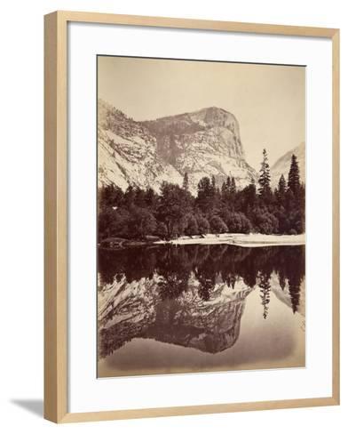 Mirror Lake, Yosemite Valley, Usa, 1861-75-Carleton Emmons Watkins-Framed Art Print