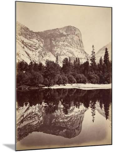 Mirror Lake, Yosemite Valley, Usa, 1861-75-Carleton Emmons Watkins-Mounted Photographic Print