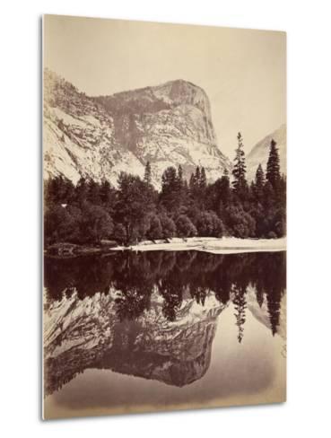Mirror Lake, Yosemite Valley, Usa, 1861-75-Carleton Emmons Watkins-Metal Print