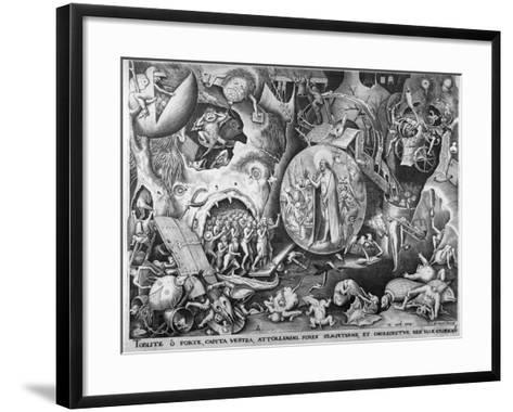 Christ in Hell, C.1561-Pieter Bruegel the Elder-Framed Art Print