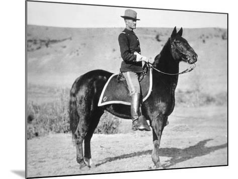 2nd Lieutenant John J. Pershing (1860-1948) 6th Us Cavalry Regiment, 1887--Mounted Photographic Print