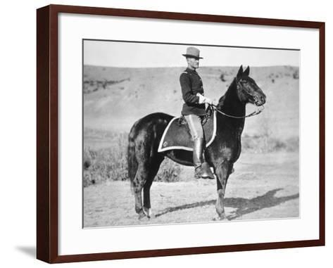 2nd Lieutenant John J. Pershing (1860-1948) 6th Us Cavalry Regiment, 1887--Framed Art Print