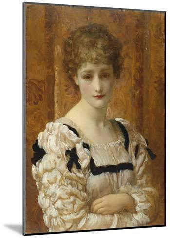 Bianca, C.1881-Frederick Leighton-Mounted Giclee Print