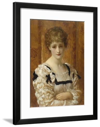 Bianca, C.1881-Frederick Leighton-Framed Art Print