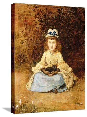Early Days, 1873-John Everett Millais-Stretched Canvas Print