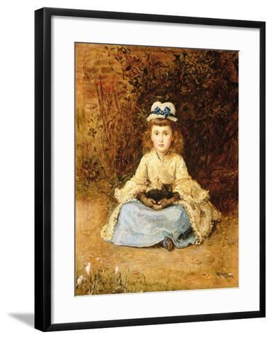 Early Days, 1873-John Everett Millais-Framed Art Print