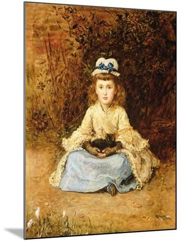 Early Days, 1873-John Everett Millais-Mounted Giclee Print