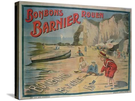 Poster Advertising 'Barnier' Sweets--Stretched Canvas Print