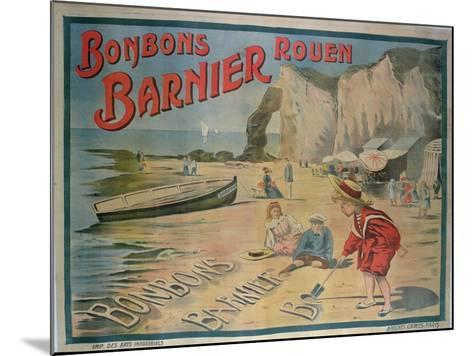Poster Advertising 'Barnier' Sweets--Mounted Giclee Print