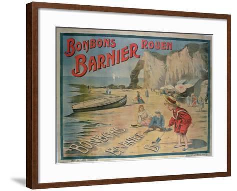 Poster Advertising 'Barnier' Sweets--Framed Art Print