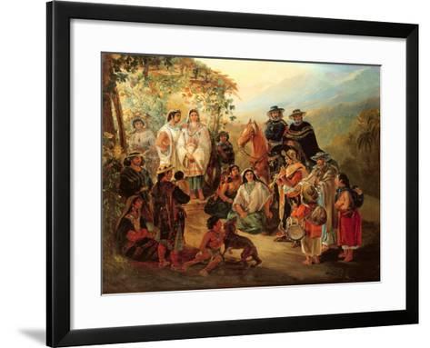 Regional Costumes, 1850-Johann Moritz Rugendas-Framed Art Print