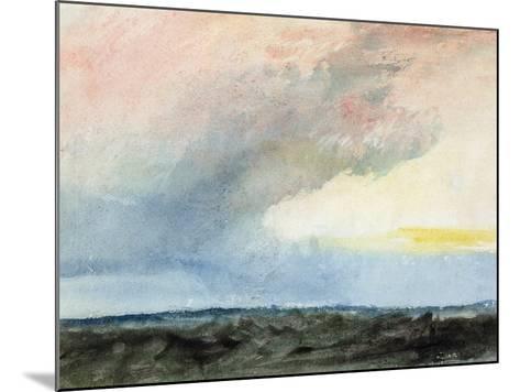 A Rainstorm at Sea-J^ M^ W^ Turner-Mounted Giclee Print