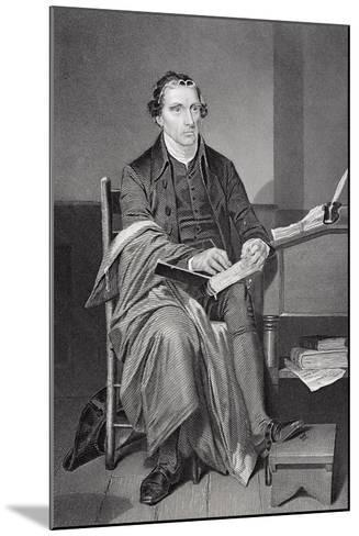 Portrait of Patrick Henry (1736-99)-Alonzo Chappel-Mounted Giclee Print