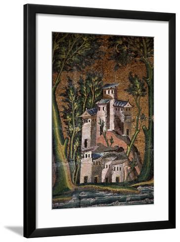 Representation of a Palace--Framed Art Print