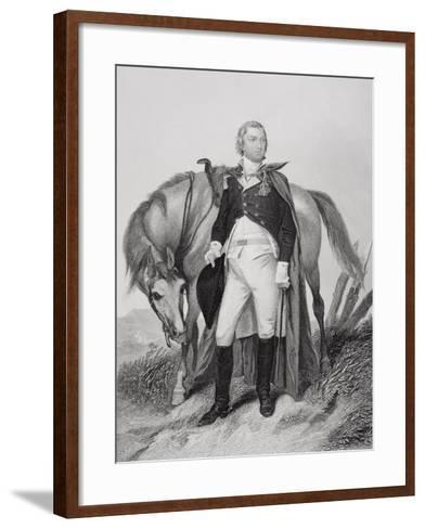 Portrait of Nathanael Greene (1742-86)-Alonzo Chappel-Framed Art Print
