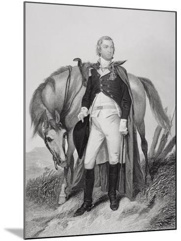 Portrait of Nathanael Greene (1742-86)-Alonzo Chappel-Mounted Giclee Print