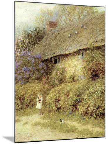 Old Cottage at Freshwater, Isle of Wight-Helen Allingham-Mounted Giclee Print