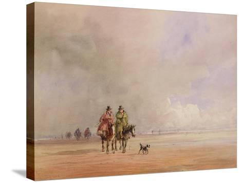 Ulverston-David Cox-Stretched Canvas Print
