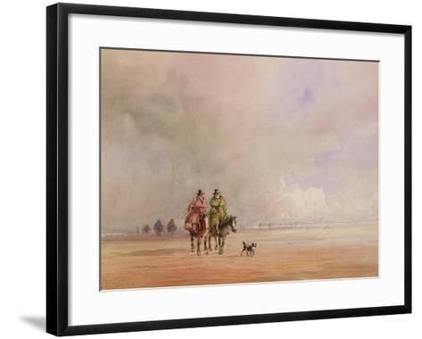 Ulverston-David Cox-Framed Art Print