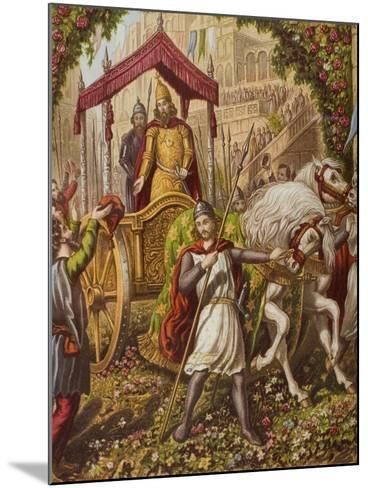 Emmanuel's Second Entry into Mansoul, Illustration from 'The Holy War' by John Bunyan (1628-88)--Mounted Giclee Print