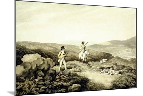 Grouse Shooting, from 'Ormes Collection of British Fieldsports', Engraved by J. Godby and H.…-Samuel Howitt-Mounted Giclee Print