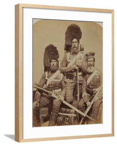Noble, Dawson and Harper, 72nd (Duke of Albany's Own Highlanders) Regiment of Foot- Joseph Cundall and Robert Howlett-Framed Art Print