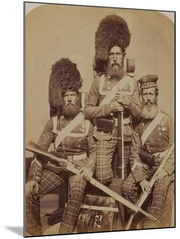 Noble, Dawson and Harper, 72nd (Duke of Albany's Own Highlanders) Regiment of Foot- Joseph Cundall and Robert Howlett-Mounted Photographic Print