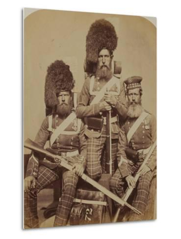 Noble, Dawson and Harper, 72nd (Duke of Albany's Own Highlanders) Regiment of Foot- Joseph Cundall and Robert Howlett-Metal Print