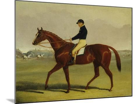 'Preserve' with Flatman Up at Newmarket, 1835-John Frederick Herring Jnr-Mounted Giclee Print