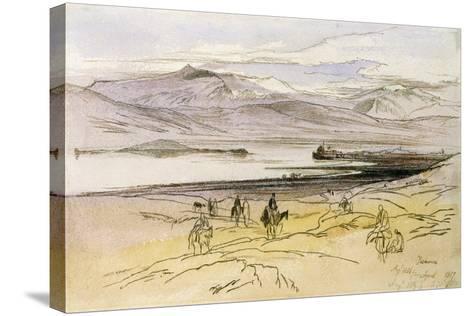 Ioannina, C.1856-Edward Lear-Stretched Canvas Print