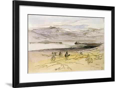 Ioannina, C.1856-Edward Lear-Framed Art Print