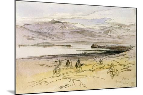 Ioannina, C.1856-Edward Lear-Mounted Giclee Print