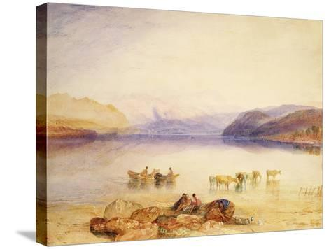 Ullswater-J^ M^ W^ Turner-Stretched Canvas Print