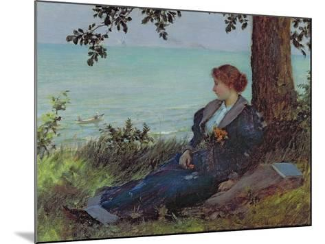 Daydreams-Charles Courtney Curran-Mounted Giclee Print