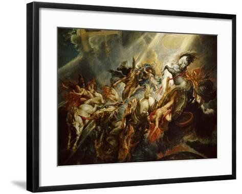 The Fall of Phaeton C.1604-08-Peter Paul Rubens-Framed Art Print