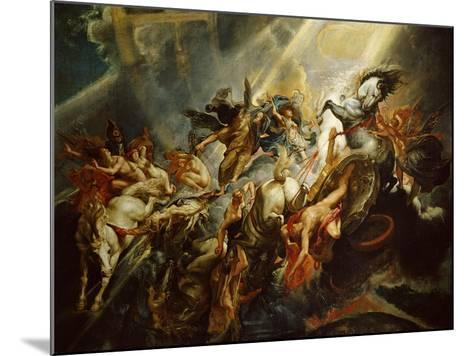 The Fall of Phaeton C.1604-08-Peter Paul Rubens-Mounted Giclee Print