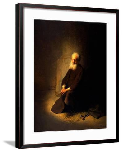 St. Peter in Prison, 1631-Rembrandt van Rijn-Framed Art Print