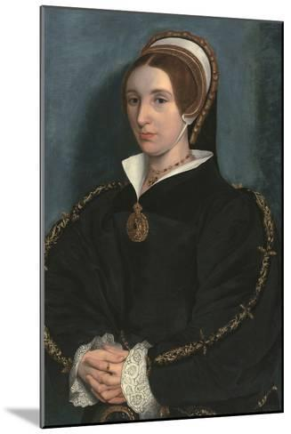 Portrait of a Lady, Thought to Be Catherine Howard-Hans Holbein the Younger-Mounted Giclee Print