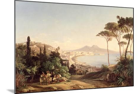 View of Naples, 1837/38-Carl Wilhelm Goetzloff-Mounted Giclee Print