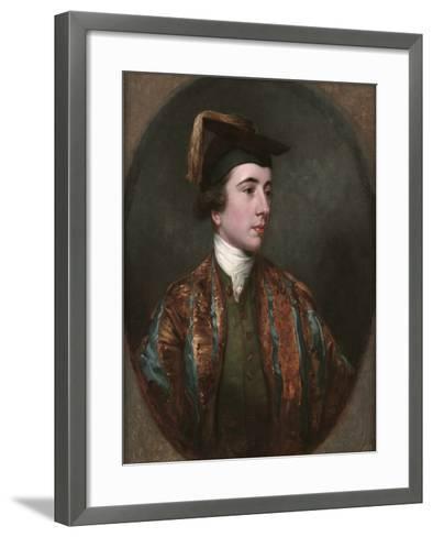 Portrait of a School Leaver-James Northcote-Framed Art Print