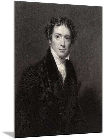 Michael Faraday, Engraved by J. Cochran, from 'National Portrait Gallery, Volume V', Published…-Henry William Pickersgill-Mounted Giclee Print