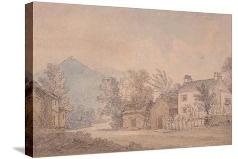 Dove Cottage, Grasmere, C.1806-Dora Wordsworth-Stretched Canvas Print