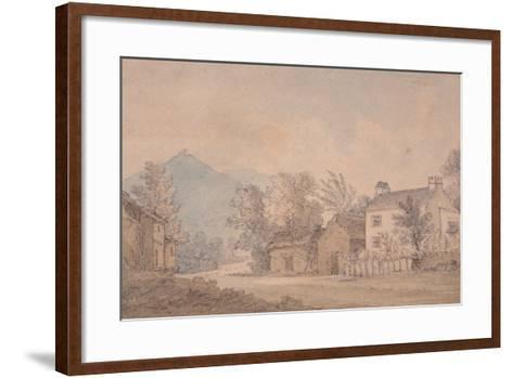 Dove Cottage, Grasmere, C.1806-Dora Wordsworth-Framed Art Print
