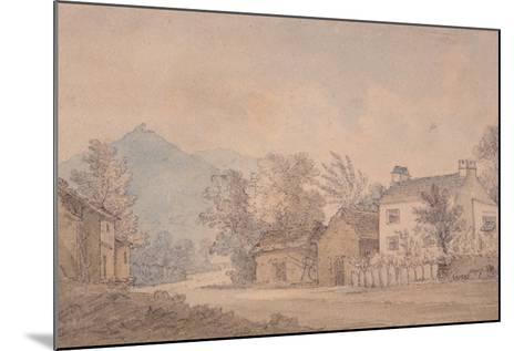 Dove Cottage, Grasmere, C.1806-Dora Wordsworth-Mounted Giclee Print