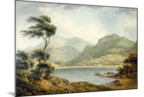 The Upper End of Coniston Lake, Lancashire, 1801-John Warwick Smith-Mounted Giclee Print
