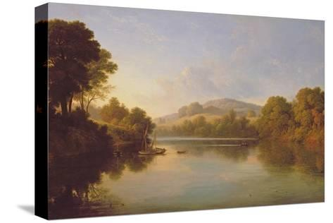 Great Barr, Staffordshire-John Glover-Stretched Canvas Print