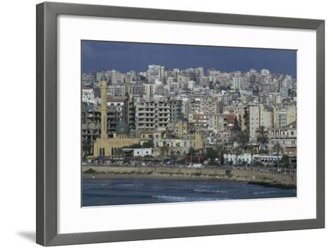 View of the City--Framed Art Print